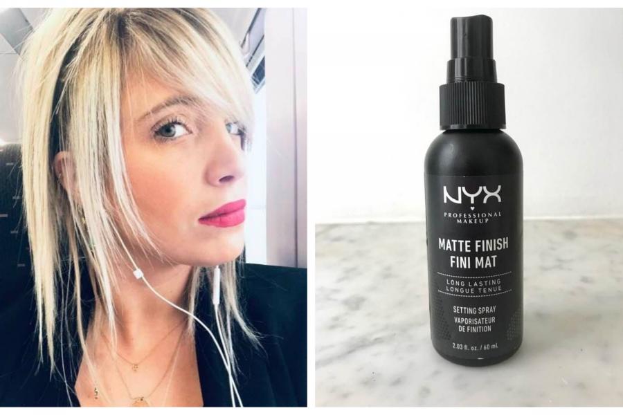 beauty lab spray fixant nyx