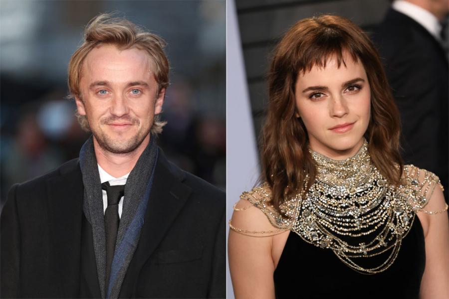 Tom Felton Emma Watson
