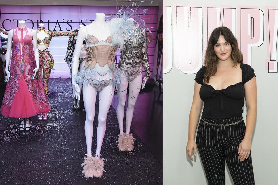 Victoria's Secret plussize model