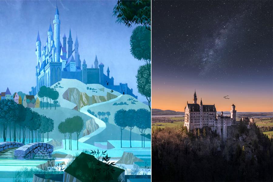 Filmlocaties van Disney