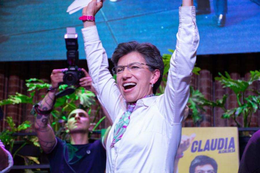 Claudia Lopez: première femme élue maire de Bogota