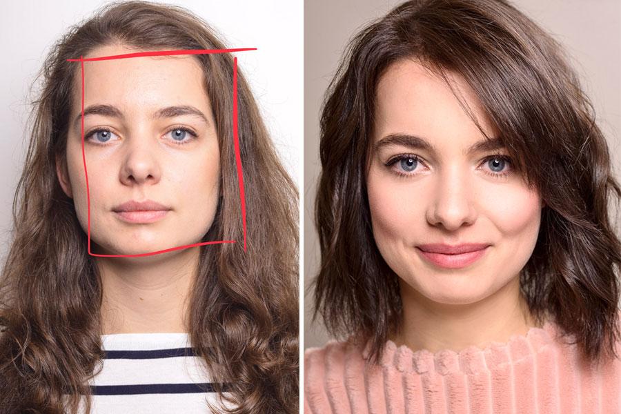 kapsel gezichtsvorm