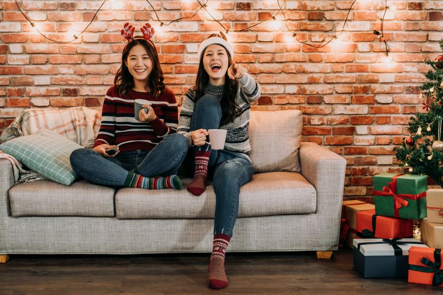 Regarder des films de Noël