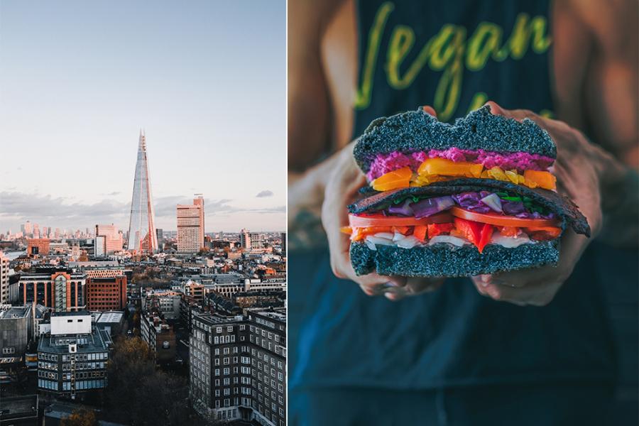 Meest vegan friendly steden ter wereld