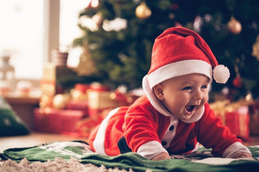 Kerstmis met een baby