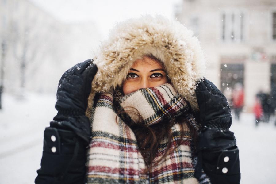 Huid verzorgen in de winter