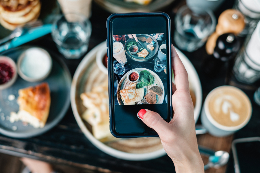 smartphone repas getty images