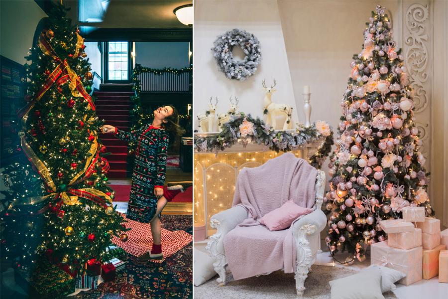 kerstbomen celebs