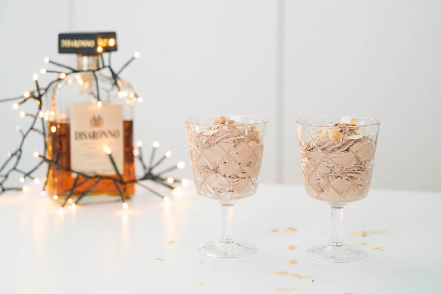 amaretto-chocolademousse