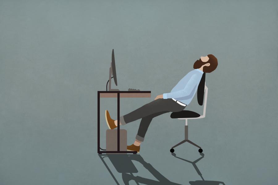 Les hommes seraient plus sensibles que les femmes au travail