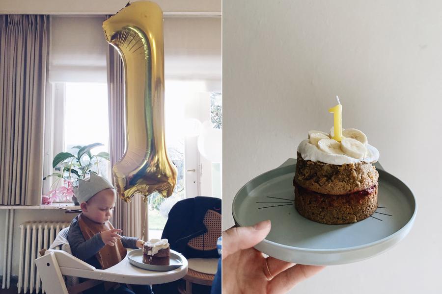 Babyproof taartje