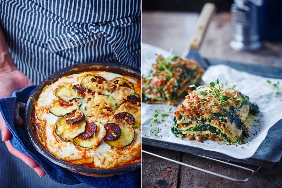 Recept voor lasagne