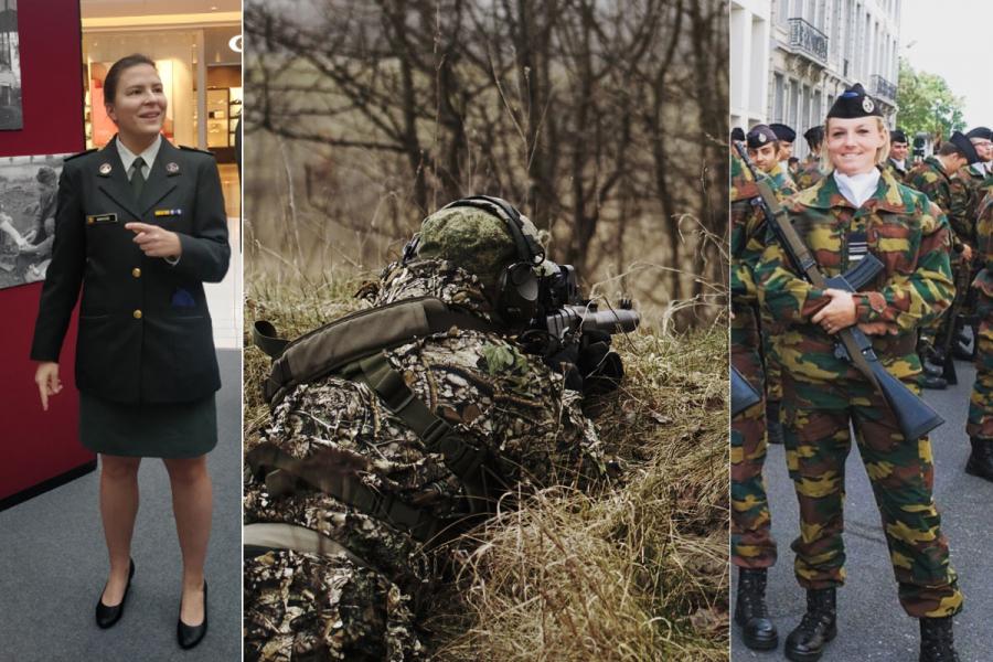 vrouwen in het leger