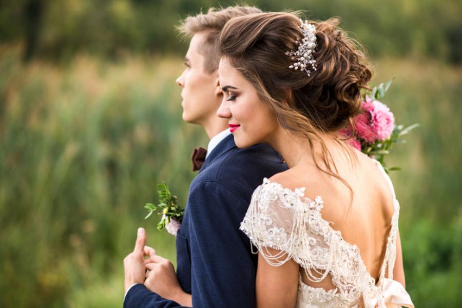 romantische bruidskapsels