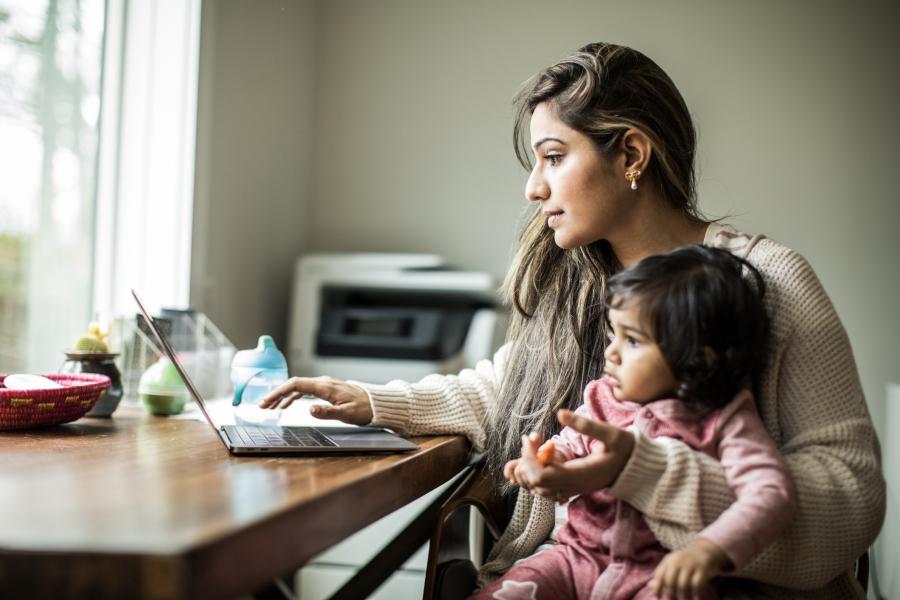 Le congé parental corona va rendre le télétravail plus aisé - Getty Images
