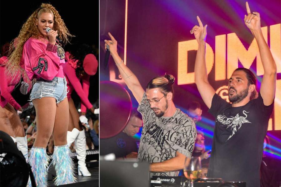 Dimitri Vegas & Like Mike en Beyoncé