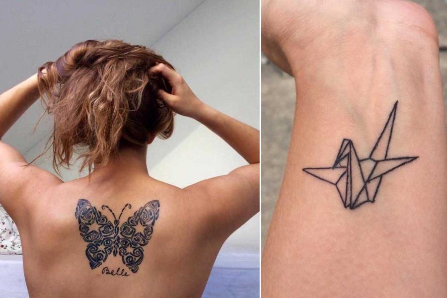 tattoos lezeressen