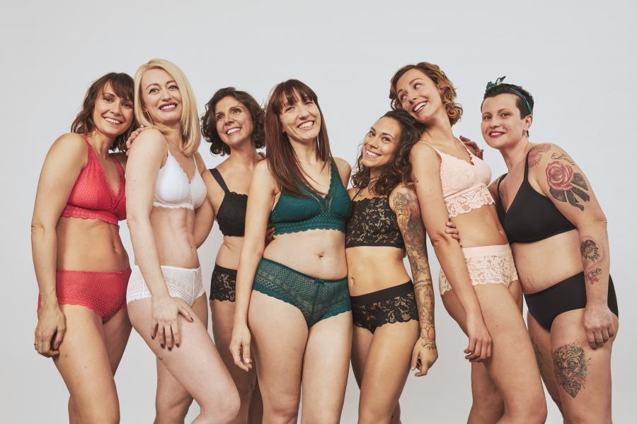 Etam - Carole, Sabrina, Lydie, Anaïs, Angélique, Karine, Cindy, 7 muses inspirantes