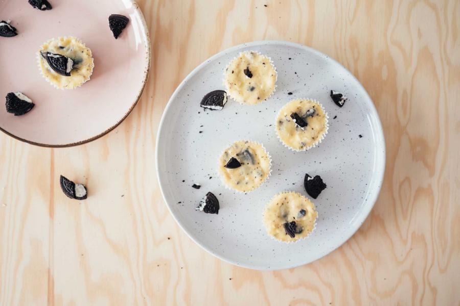 mini-Oreocheesecakes