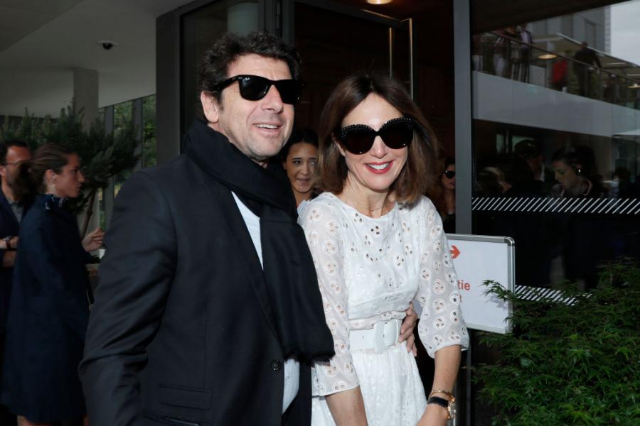 Patrick Bruel et Elsa Zylberstein à Roland-Garros - Getty Images