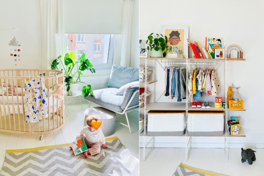 Happy place van Line: de kinderkamer van Marie