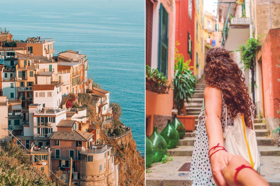 Romantische steden Italië