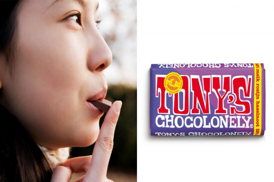 tony's chocolonely estafettereep