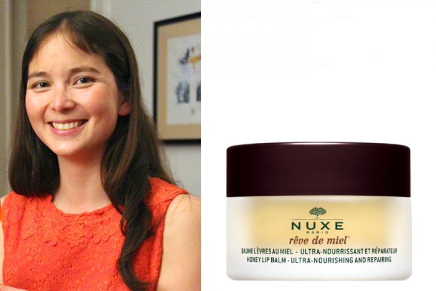 Baume à lèvres au miel rêve de miel, Nuxe.