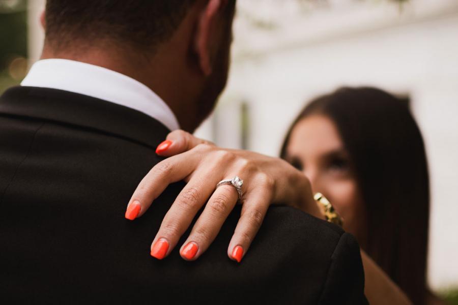 diamanten verlovingsringen