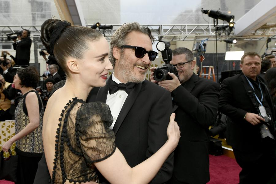 Rooney Mara et Joaquin Phoenix - Getty Images