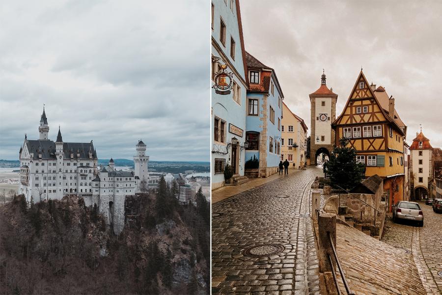 Duitsland populaire bestemmingen