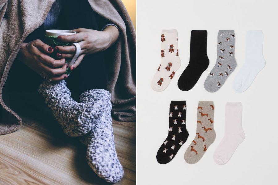 sokken herfst