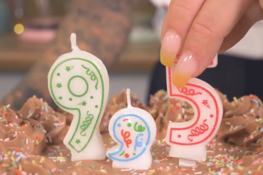 verjaardagskaarsjes