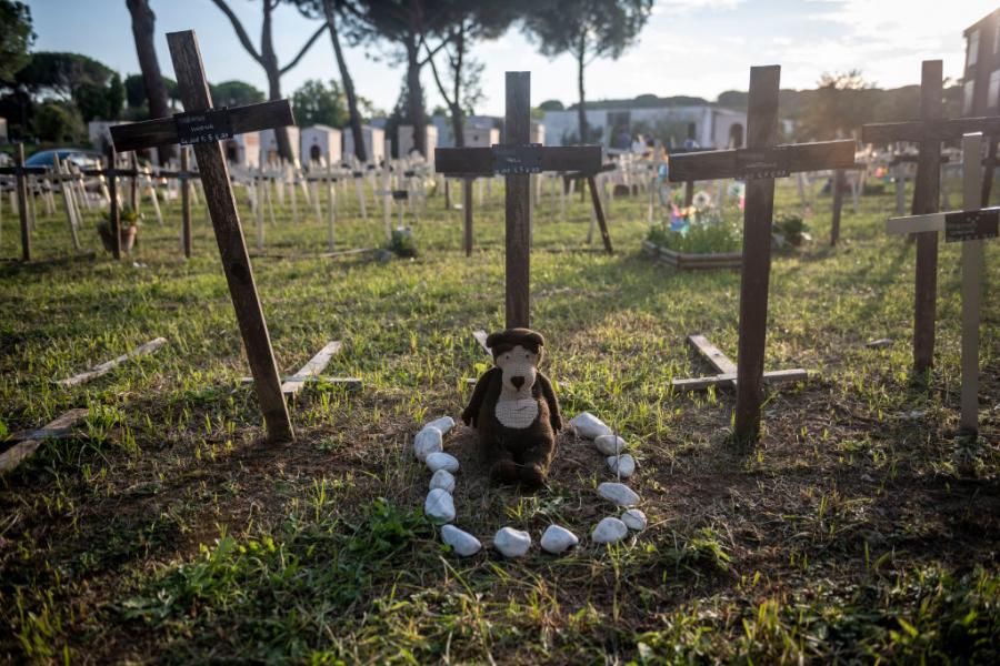 Cimetière de foetus de Fiamino - Getty Images