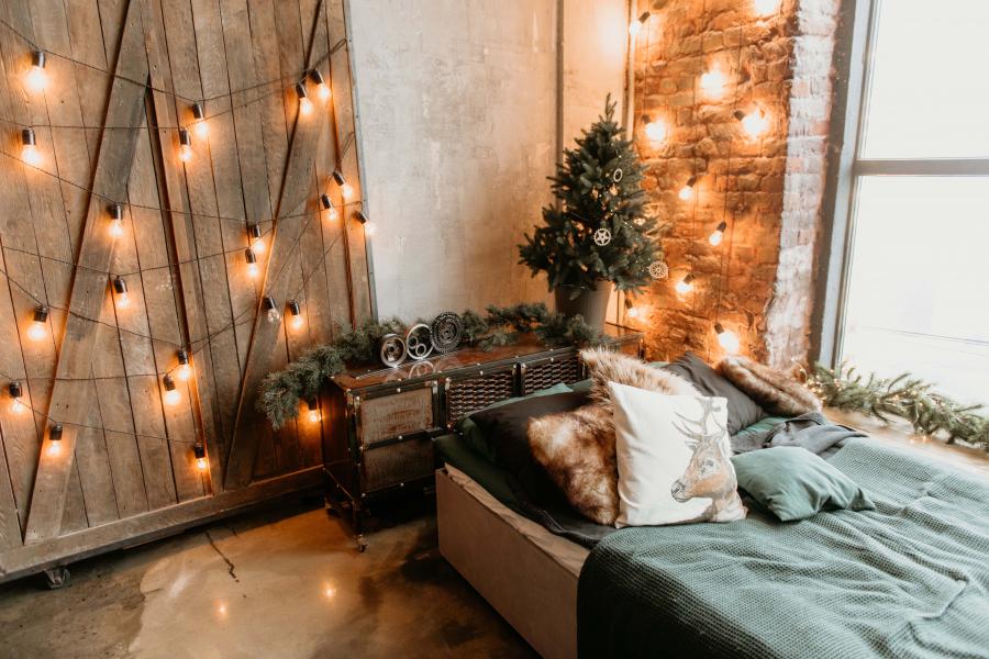 kamer versieren voor kerst