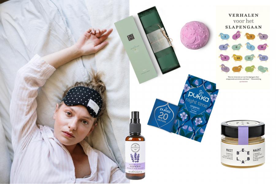 Producten om beter slapen