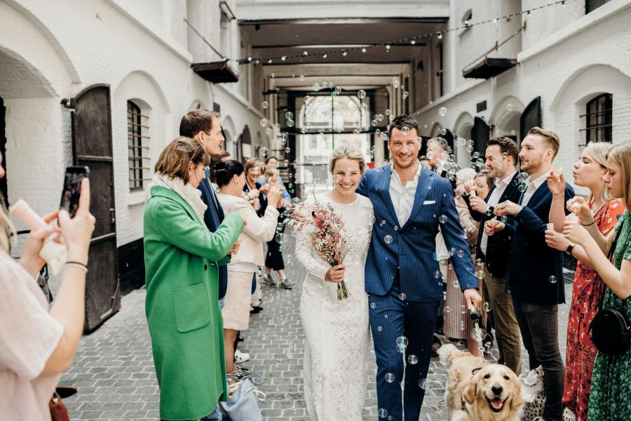 bijzondere bruiloft anne-catherine
