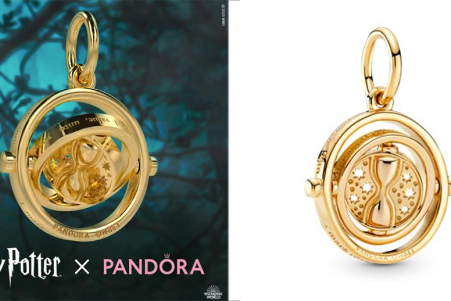 IDÉE CADEAU: un retourneur de temps Harry Potter x Pandora