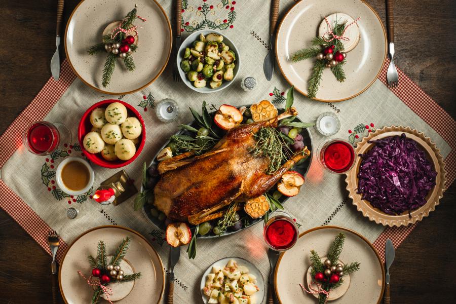 Recettes Une Idee De Menu Gourmand Et Facile A Realiser Pour Noel
