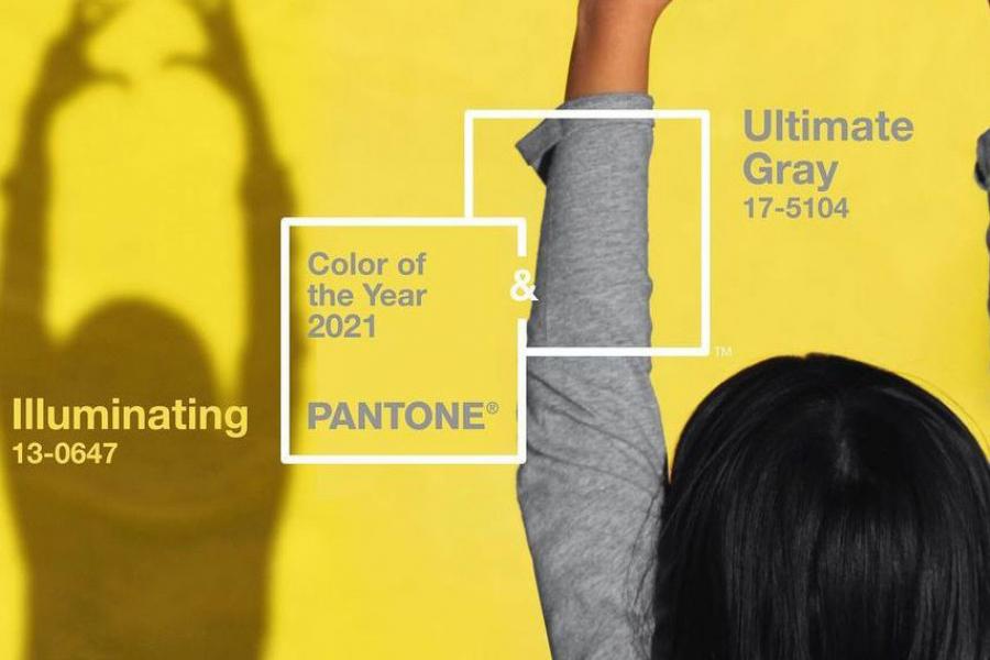 kleur van het jaar pantone