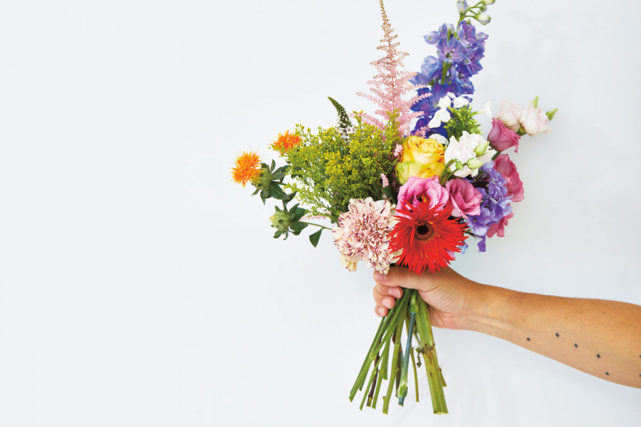 bloemen vers houden