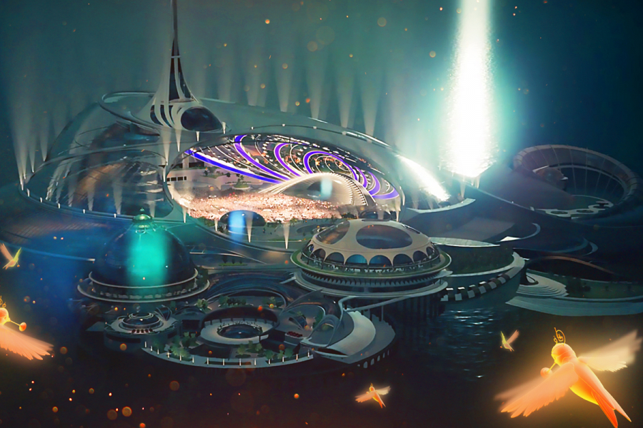 Tomorrowland oudejaarsavond
