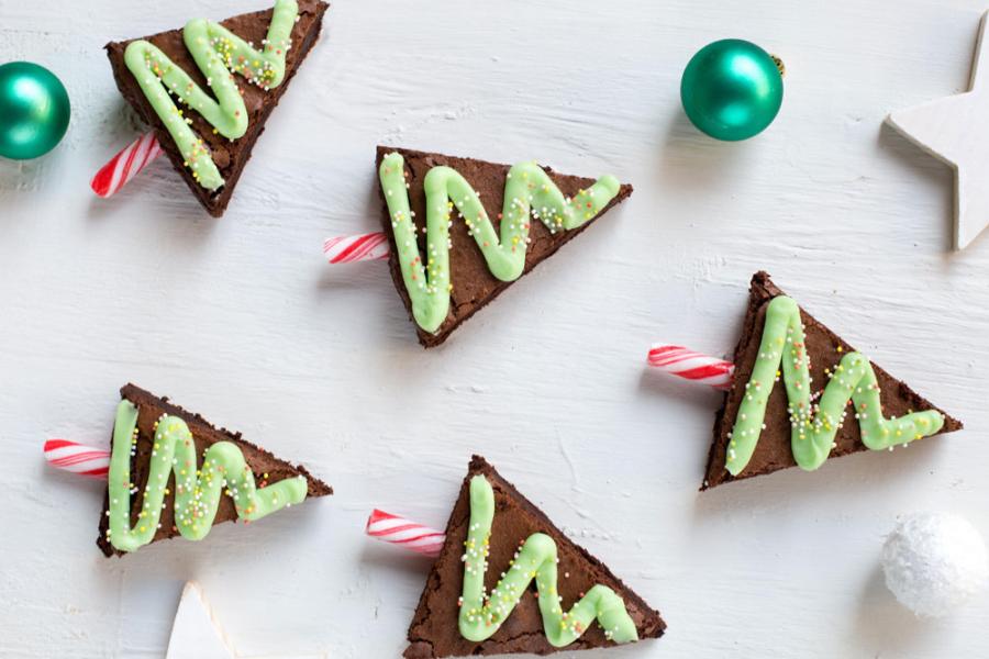 brownies kerst