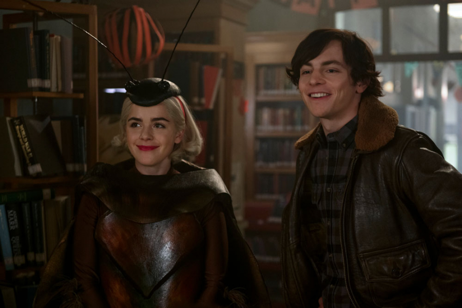 chilling adventures of sabrina bloopers