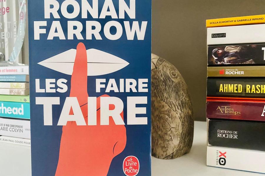 Les Faire taire - Chronique de l'affaire Weinstein par Ronan Farrow - DR Flair