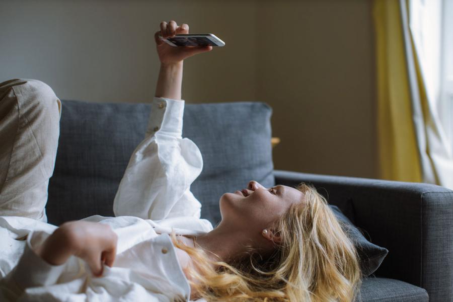 verslaafd smartphone