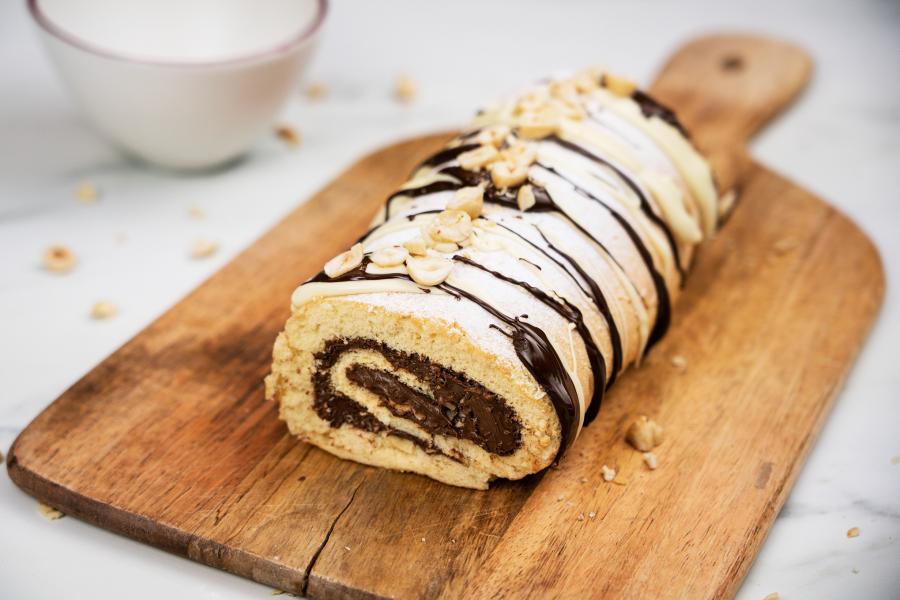 Nutella-rolcake
