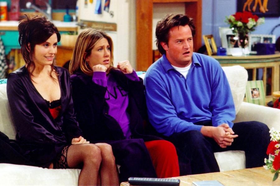 Rachel tic Friends