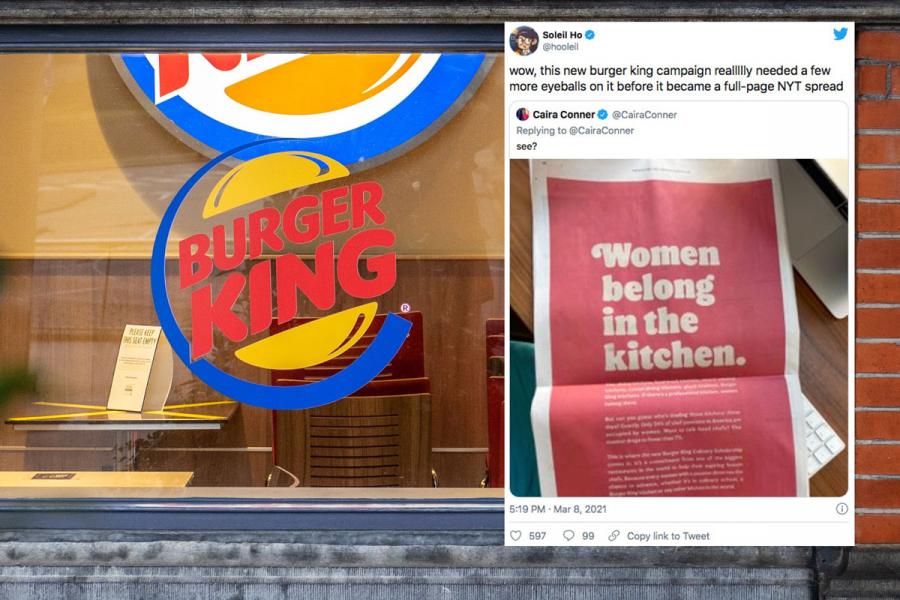 Burger King reclame
