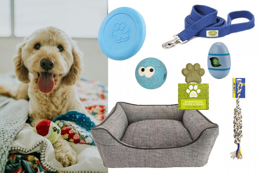 ecologische spullen voor hond